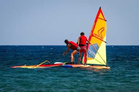 Santorini: 2-Day Guided Windsurfing Lesson