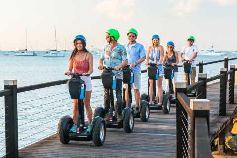 Airlie Beach: 3-Hour Sunset Segway Tour with Dinner
