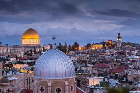 From Ashdod Port: Jerusalem And Bethlehem Small Group Tour