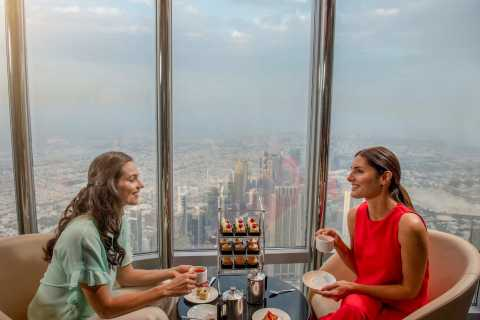 Dubai: Burj Khalifa Lounge Tea in the Clouds Experience
