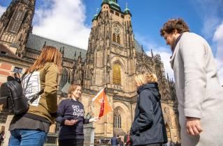 Prager Burg: Kleingruppentour mit Guide & Eintritt