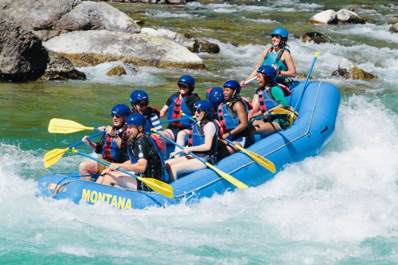 Glacier National Park Half Day Whitewater Rafting Trip Getyourguide
