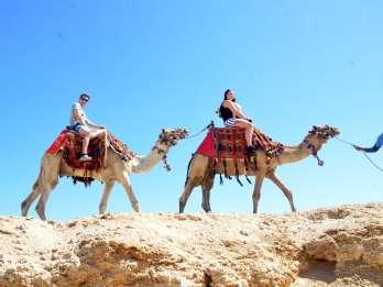 Hurghada: Wüstentour mit Kamelritt und Beduinen-Guide