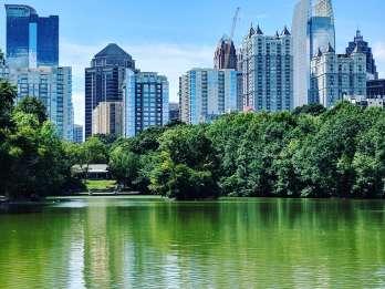 Atlanta: Eine Stadt in einer waldreichen Naturrundfahrt