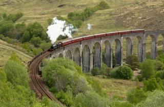 Ab Edinburgh: Magische Highlands-Tour mit Hogwarts Express