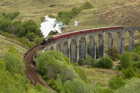 From Edinburgh: Magical Highlands Tour with Hogwarts Express