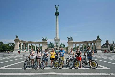 Budapest: City Bike Tour with Coffee Stop