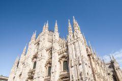Catedral de Milão e Terraços: Tour Guiado c/ Acesso Rápido