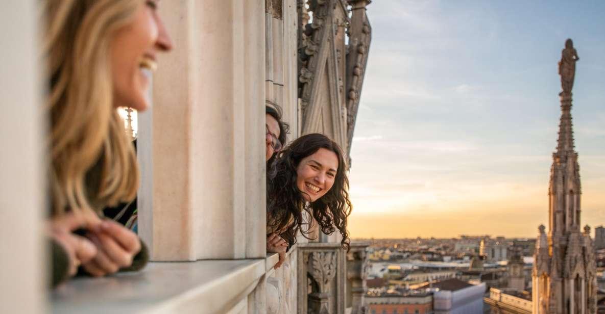 ミラノ:ドゥオーモ&テラス 優先入場ガイドツアー