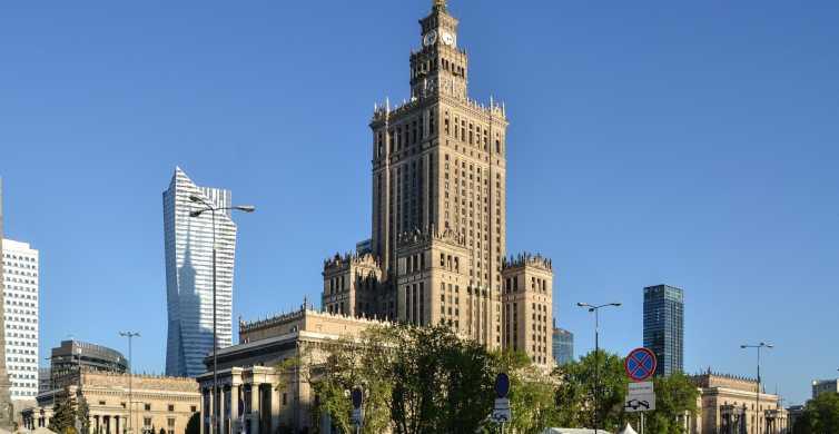 Varsóvia: Palácio da Cultura e Tour Privado ao Centro da Cidade de Varsóvia