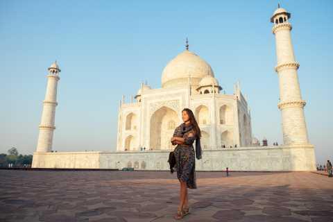 Taj Mahal y Agra: tour privado en coche desde Delhi