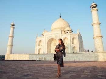 Ab Delhi: Privater Autoausflug zu Taj Mahal und Agra