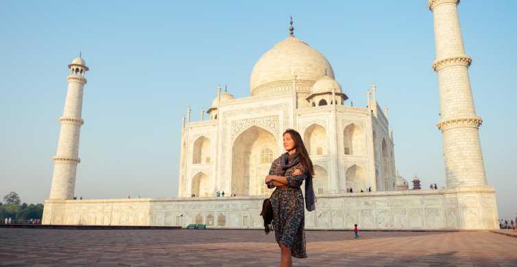 De Delhi: Excursão Particular de Carro ao Taj Mahal e Agra