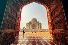 De Delhi: Excursão Particular de Trem ao Taj Mahal e Agra