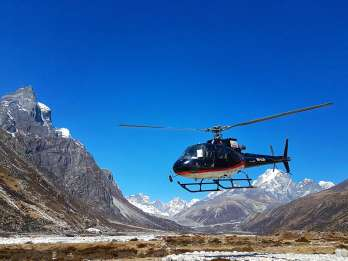 Ab Kathmandu: Helikopter-Tour zum Mt. Everest Basislager
