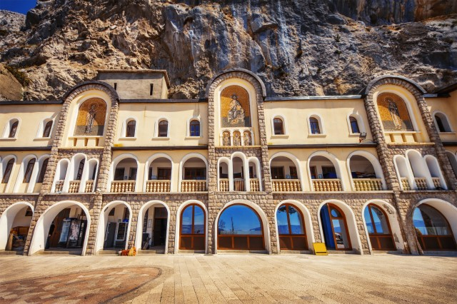 Podgorica: Ostrog-klooster en Niagara-waterval
