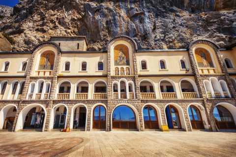 Podgorica: Ostrog Monastery and Niagara Waterfall Tour