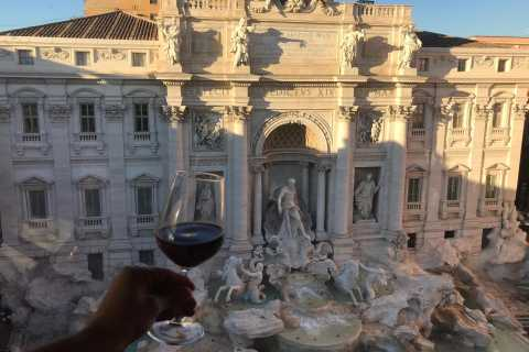 Rome: Historical Center Food and Wine Sunset Tour