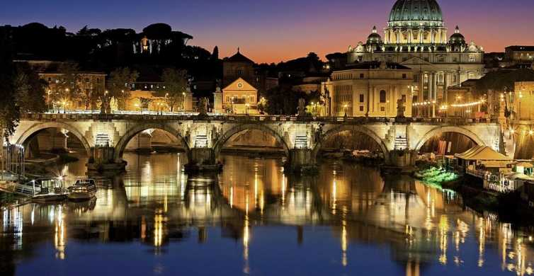 Rome Evening Walking Tour with Aperitif