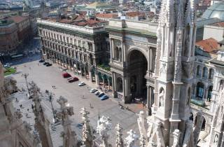 Von Rom: Tagesausflug nach Mailand mit dem Zug (Halbprivattour)
