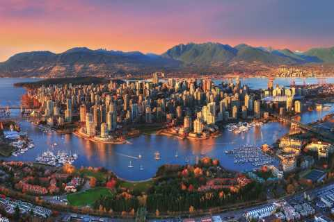 Vancouver: 1.5-Hour Guided Sunset Tour