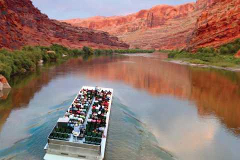 Moab: geluid en lichtshow met diner