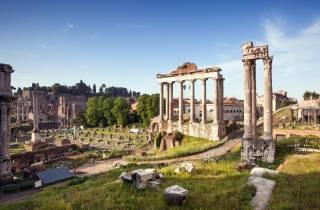 Kolosseum, Palatin-Hügel & Forum ohne Anstehen mit Begleiter