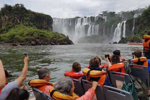 From Foz do Iguaçu: Iguazú Falls Boat Ride Argentina