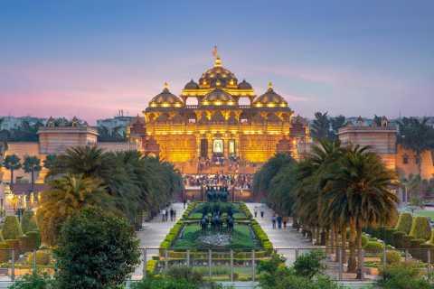 Delhi: tour privado de 1 día Qutb Minar, Vieja y Nueva Delhi