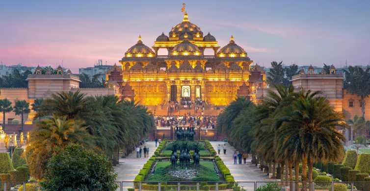 Delhi: Full-Day Qutb Minar, Old and New Delhi Private Tour