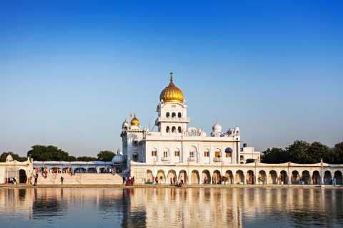 Tour privado de 6 h: templos de Delhi y lugares espirituales
