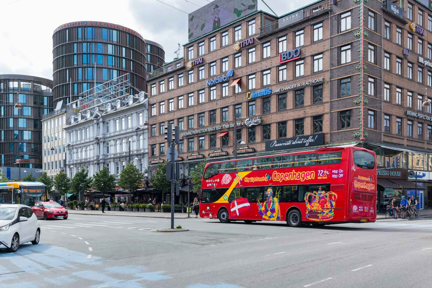 Kopenhagen: Tickets für den Hop-On/Hop-Off-Bus