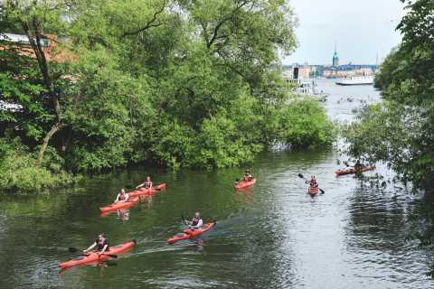 Stockholm: Self-Guided 1 or 2-Person Kayak Tour
