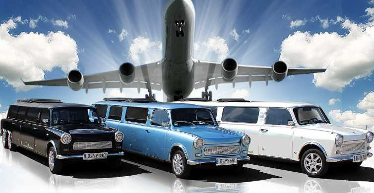 Berlino: transfer aeroporto in limousine con tour città