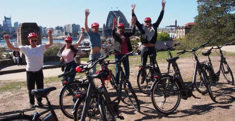 Sydney: Guided Harbour E-Bike Tour