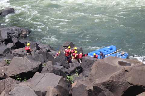 From Livingstone & Victoria Falls: Rafting & Safari Combo
