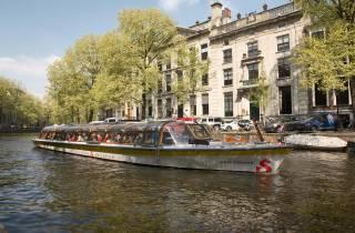 Amsterdam: 1-stündige Grachtenfahrt mit 100 Highlights