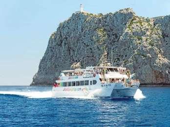 Mallorca: Cap de Formentor Bootstour mit Unterwasserfenstern