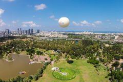 Tel Aviv: Voo de Balão de 15 Minutos