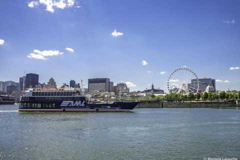 Montreal: Sankt-Lorenz-Strom Sightseeingtour per Boot