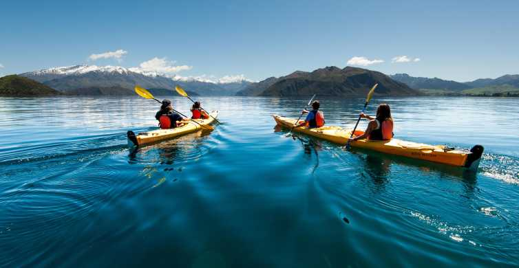 Wanaka: Full-Day or Half-Day Guided Kayak Tour