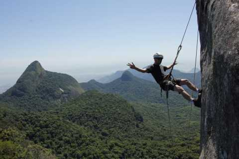 Rio de Janeiro: Hiking and Rappelling at Tijuca Forest