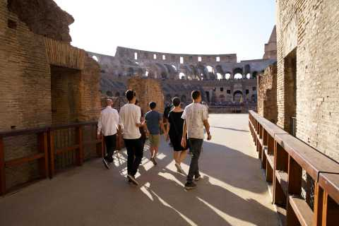 Rome: Colosseum Gladiator Arena and Roman Forum Tour