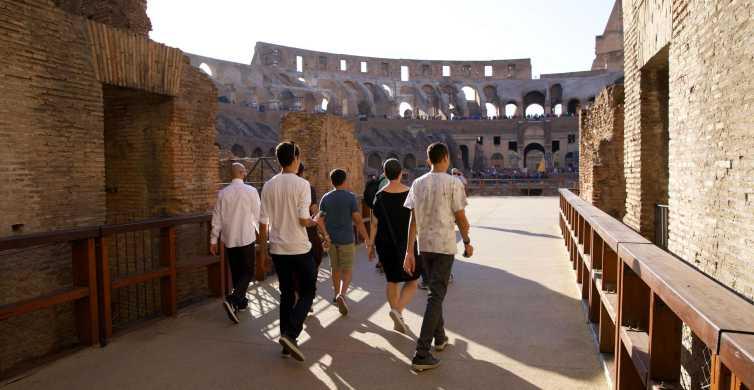 Roma: Arena do Gladiador do Coliseu e Fórum Romano