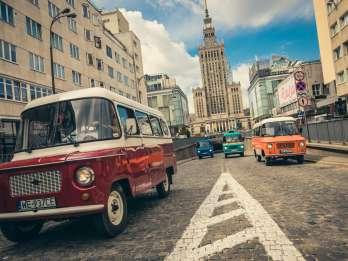 Warschau: Kommunismus-Tour im Original-sozialistischen-Van