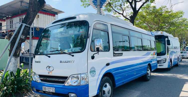 Hue: Shuttle Bus to/from Hoi An or Da Nang