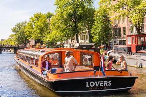 Ámsterdam: vida nocturna y crucero por el canal