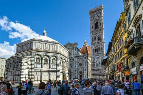 Florence: Historical Sneak-Peek of Duomo Square
