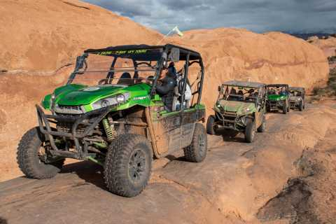 Moab: Hell's Revenge 4WD Off-Road Tour by Kawasaki UTV