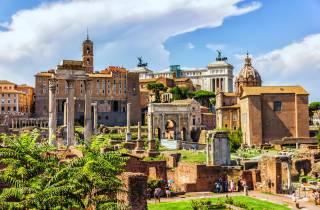 Antikes Rom: Hop-On-Hop-Off-Bus & Einlass ohne Anstehen